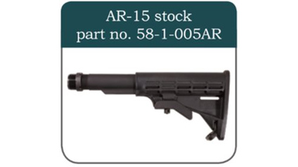 CSA VZ-58 Sporter AR15 Stock with Adapter